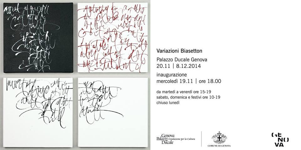 invito mostra Biasetton