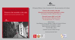 1_Invito presentazione Genova che scende e che sale_5 marzo 2015